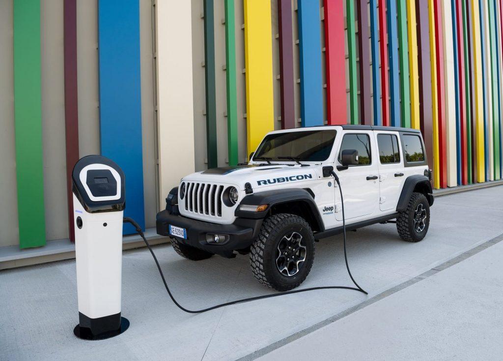Jeep Wrangler 4xe Rubicon - laden