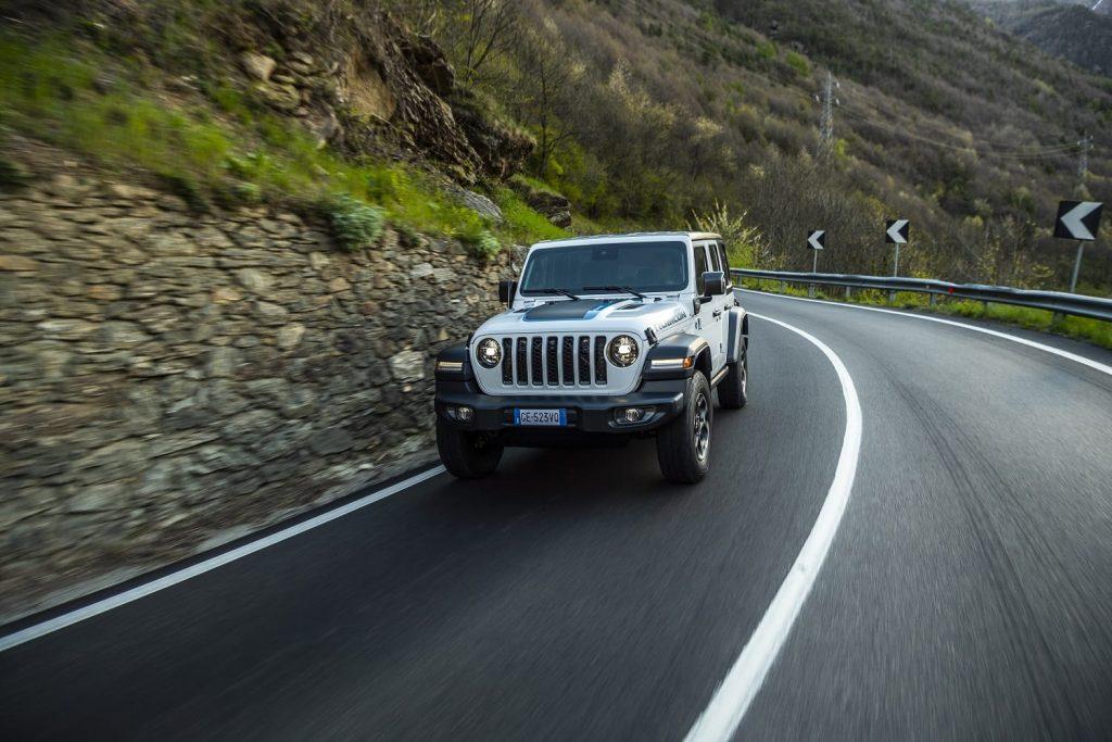 Jeep Wrangler 4xe Rubicon - rijdend