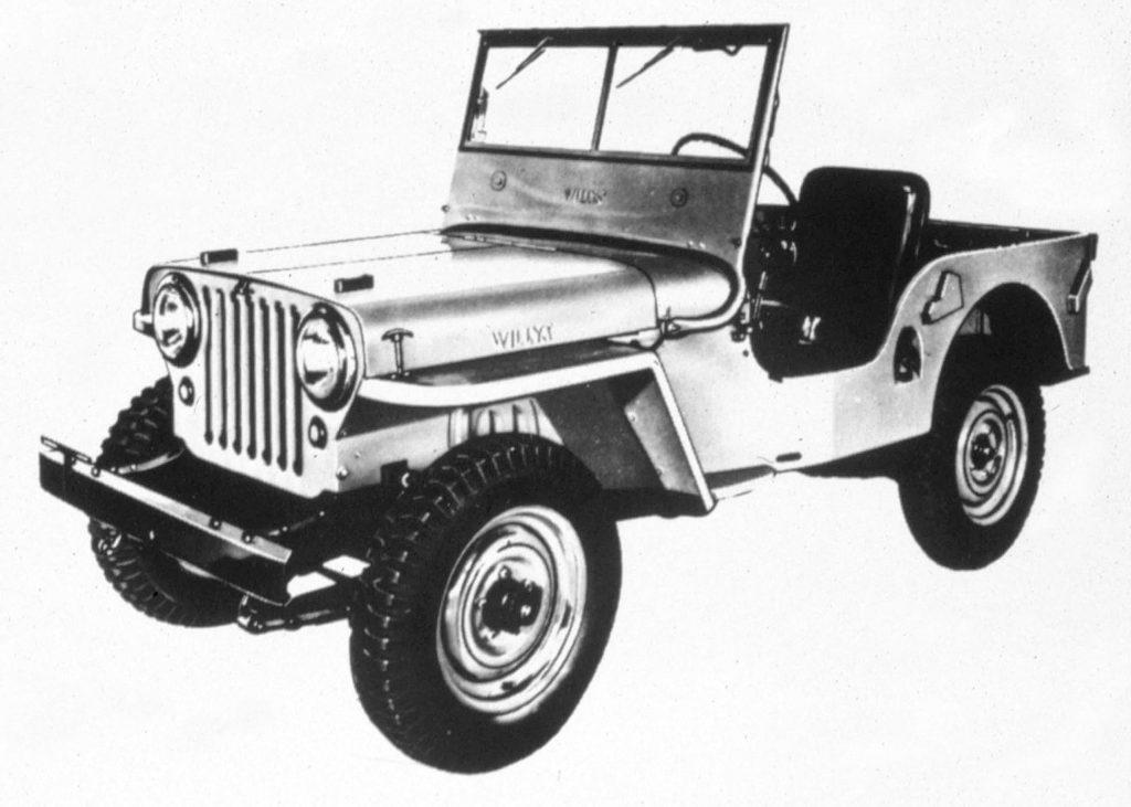 1945 Jeep(R) CJ-2A. (J-0274)