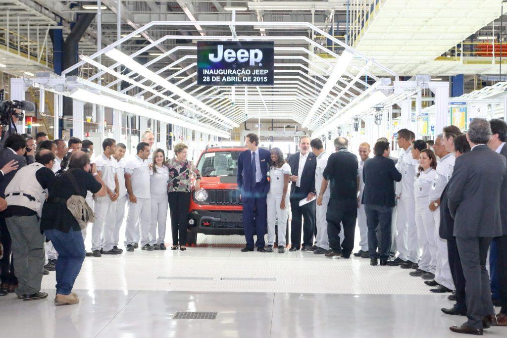 Jeep Production line Brazil