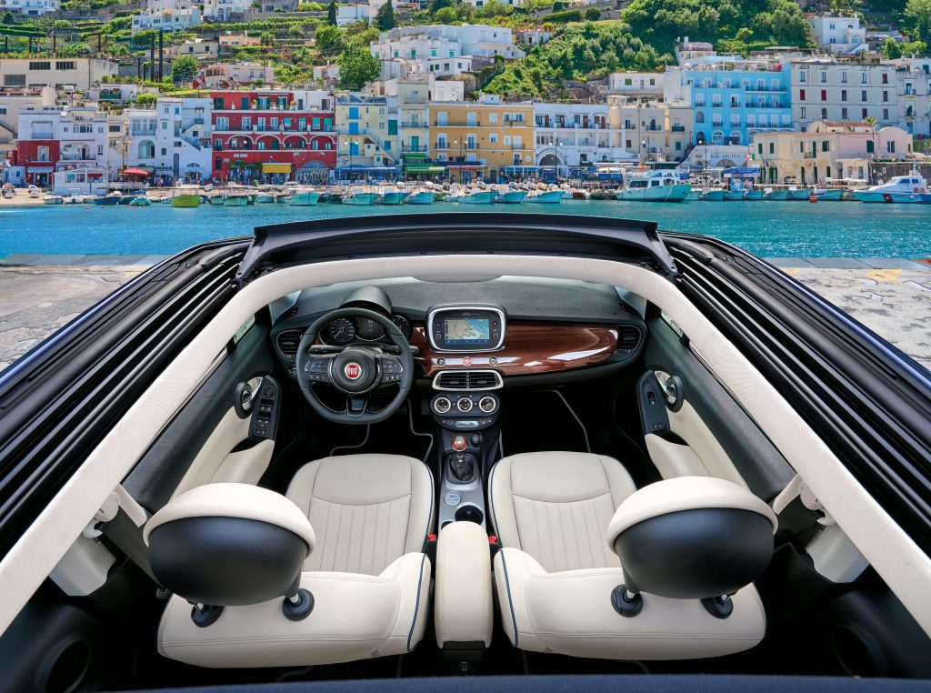 Fiat 500X Yachting - interieur 2