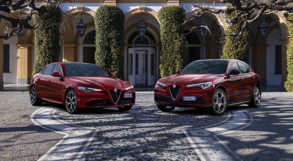 Alfa Romeo Giulia en Stelvio 6C Villa d'Este - voorkant