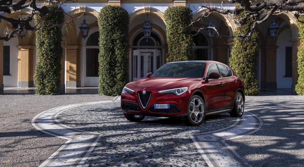 Alfa Romeo Stelvio 6C Villa d'Este - schuin voorkant