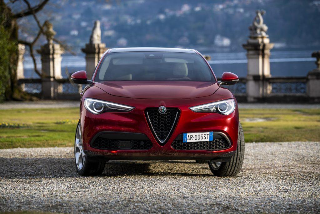 Alfa Romeo Stelvio 6C Villa d'Este - voorkant