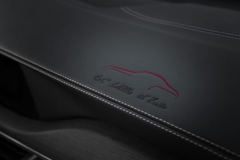 Alfa Romeo Giulia en Stelvio 6C Villa d'Este - interieur detail