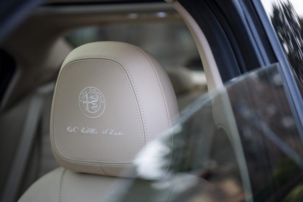 Alfa Romeo Giulia en Stelvio 6C Villa d'Este - interieur detail 2