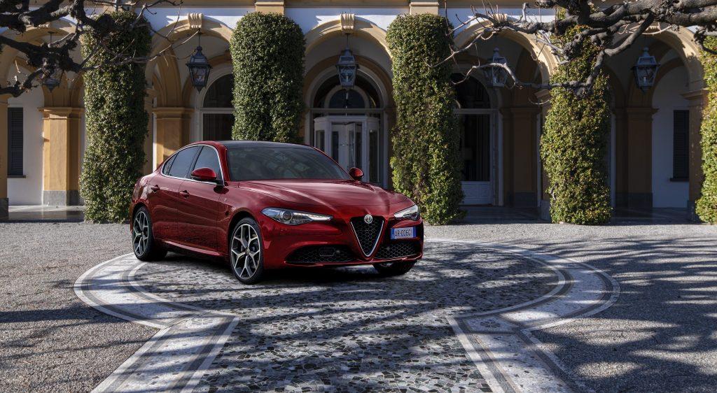 Alfa Romeo Giulia 6C Villa d'Este - schuin voorkant