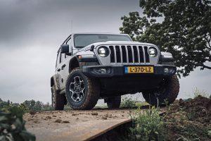 Jeep Wrangler 4XE voorkant