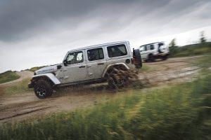 Jeep Wrangler 4XE wielspin
