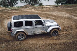 Jeep Wrangler 4XE zijkant