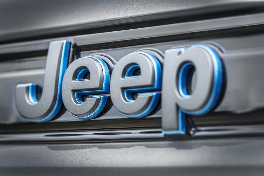 All-new 2022 Jeep® Grand Cherokee Trailhawk 4xe - detail foto jeep