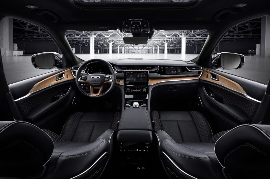 All-new 2022 Jeep® Grand Cherokee Summit Reserve - interieur 2
