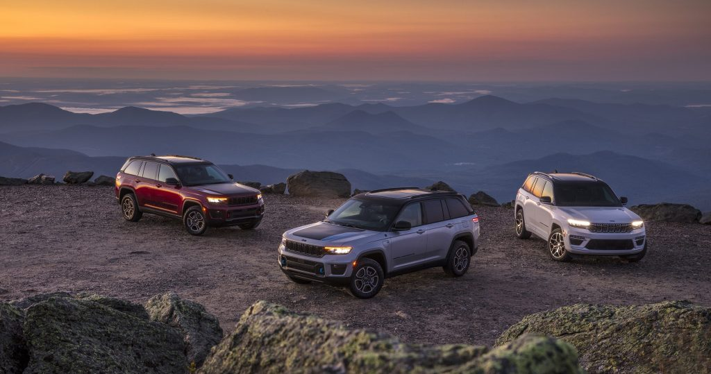 All-new 2022 Jeep® Grand Cherokee models