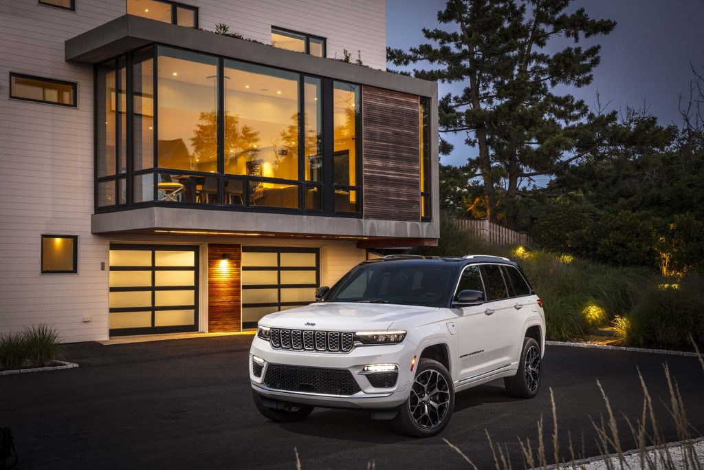 2022 Jeep® Grand Cherokee Summit 4xe - huis